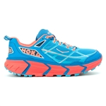 Womens Hoka CHALLENGER ATR Trail Running Shoes - Dresden Blue / Neon Coral