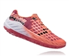 Womens Hoka CLAYTON Road Running Shoes - Teaberry / Neon Coral