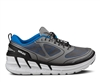 Mens Hoka CONQUEST TARMAC Road Running Shoes - Frost Grey / Blue / White
