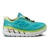 Womens Hoka CONQUEST TARMAC Road Running Shoes - Aqua / White / Acid