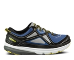 Mens Hoka CONSTANT Road Running Shoes - True Blue / Grey / Citrus