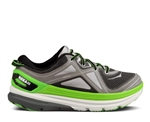 Mens Hoka CONSTANT Road Running Shoes - Grey / Black / Green Flash