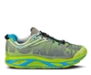 Mens Hoka HUAKA Road Running Shoes - Lime / Anthracite / Cyan