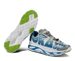 Mens Hoka HUAKA Road Running Shoes - White / Blue / Lime