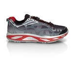 Mens Hoka HUAKA Road Running Shoes - Black / True Red