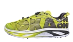 Mens Hoka HUAKA Road Running Shoes - Lime / White