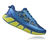 Mens Hoka INFINITE Road Running Shoes - True Blue / Acid