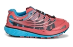 Womens Hoka KAILUA S TRAIL Running Shoes - Paradise Pink / Cyan / Black