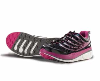Womens Hoka KAILUA TRAIL Running Shoes - Black / Pink / Grey