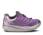 Womens Hoka KAILUA TRAIL Running Shoes - Grey / Light Blue / White
