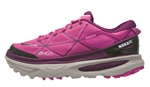 Womens Hoka MAFATE 4 Trail Running Shoes - Fushia / Plum