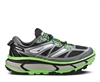 Mens Hoka MAFATE SPEED Trail Running Shoes - Grey / Green Flash