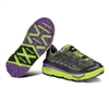 Womens Hoka MAFATE 3 Running Shoes - Lime / Anthracite / Purple
