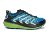 Mens Hoka RAPA NUI 2S TRAIL Running Shoes - Black / Blue / Green Flash