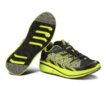 Mens Hoka RAPA NUI 2 TRAIL Running Shoes - Black / Yellow / Grey