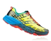 Mens Hoka SPEEDGOAT 2 Trail Running Shoes - Citrus / Dresden Blue