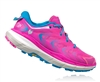 Womens Hoka SPEEDGOAT Trail Running Shoes - Neon Fuchsia / Blue Jewel