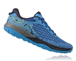 Mens Hoka SPEED INSTINCT Trail Running Shoes - True Blue / Dresden Blue