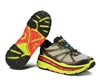 Mens Hoka STINSON ATR Trail Running Shoes - Lime / Black / Red