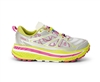 Womens Hoka STINSON ATR Trail Running Shoes - Citrus / Silver / Fushia