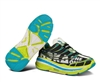 Mens Hoka STINSON TARMAC Road Running Shoes - Lime / Black / White