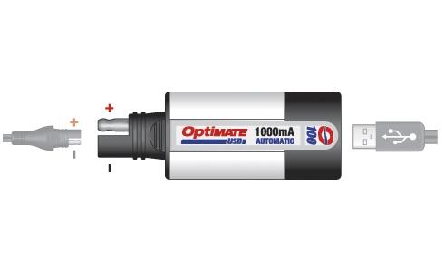 Optimate Universal 1 Amp Usb Charger