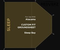 Redverz Gear Atacama Groundsheet Sleeping