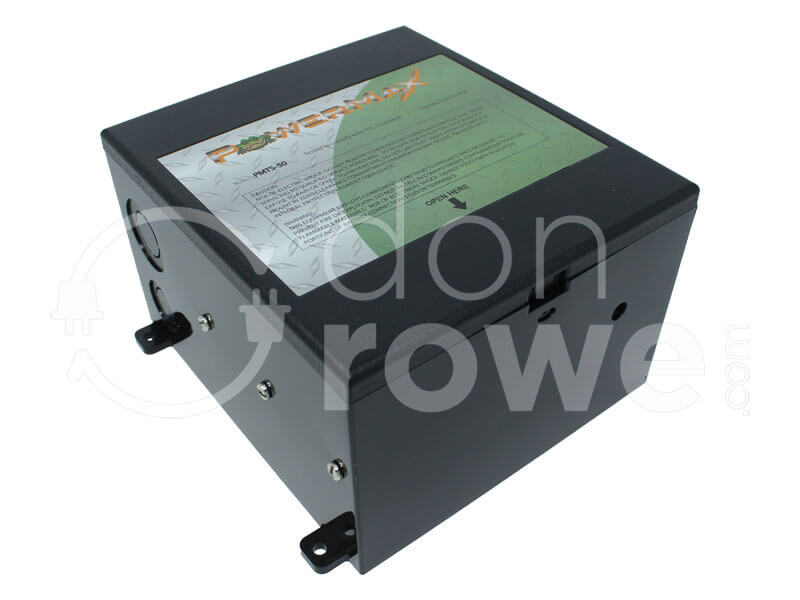 DonRowe.com:PowerMax PMTS-50, 50A Automatic Transfer Switch