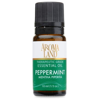 Aromaland - Peppermint Essential Oil 10ml. (1/3oz.)