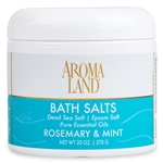 Aromatherapy+ Bath Salts - Rosemary & Mint 20 oz.