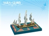 Sails of Glory: HMS Concorde 1783 Ship Pack