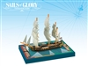 Sails of Glory: Carmagnole 1793 - French Frigate Ship Pack