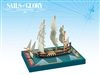 Sails of Glory: Proserpine 1785 - French Frigate Ship Pack