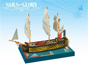Sails of Glory: Orient 1791 - French Ship of the Line Ship Pack