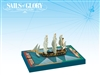 Sails of Glory: Alligator 1782 - French Ship-Sloop Ship Pack