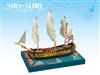 Sails of Glory: HMS Queen Charlotte 1790 - British Ship of the Line Ship Pack