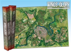 Wings of Glory: CIty Game Mat