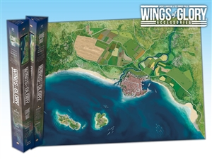 Wings of Glory: Coast Game Mat
