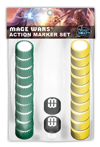 Mage Wars: Action Markers Set