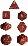 Golden Strawberry Dice Set 4/6/8/10/10s/12/20 - 7 Dice