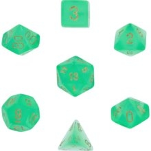 Borealis™ Light Green w/gold 7-Die Set
