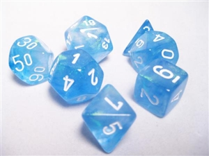 Borealis™ Sky Blue w/white 7-Die Set