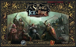 A Song of Ice & Fire: Tabletop Miniatures Game: Starter Set - Stark vs Lannister