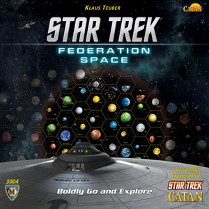 Star Trek Catan: Federation Space Map Set