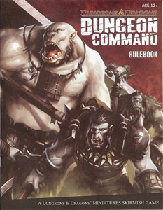 Dungeon Command: Blood of Gruumsh: Rule Book
