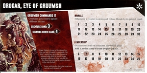 Dungeon Command: Blood of Gruumsh: Drogar, Eye of Gruumsh