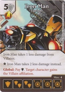 Iron Man - Upright 0043 Common