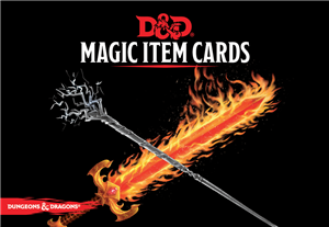 Dungeons and Dragons RPG: Magic Item Cards Deck (292 cards)