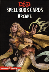 Dungeons and Dragons 5th Edition RPG: Spellbook Cards: Arcane