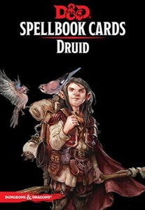 Dungeons and Dragons 5th Edition RPG: Spellbook Cards: Druid